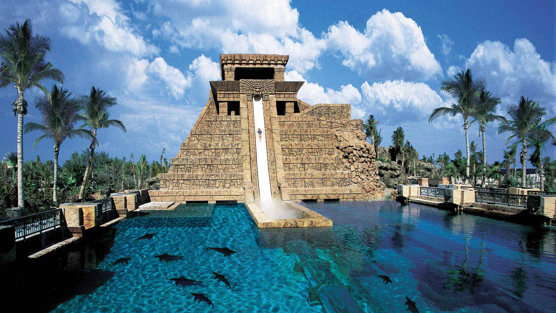 Aquaventure, Leap of Faith, water slide