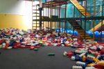 Overdekte speeltuin Bengeltjesdorp in Hengelo