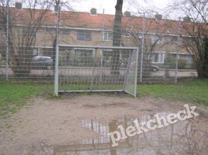 Voetbalveld  J.P. Sweelinckstraat