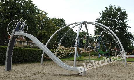 Speeltuin Burcht ter Cleeff in Haarlem