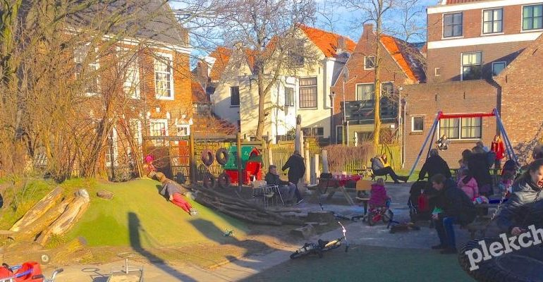Speeltuin Het Paradijsje in Haarlem