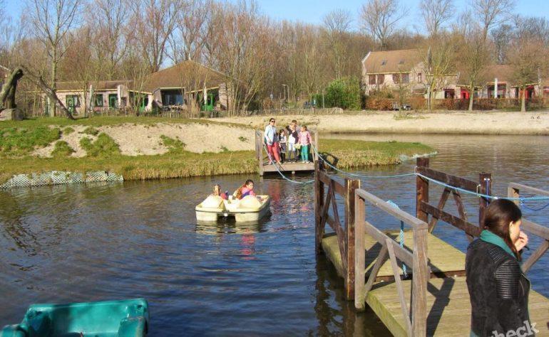 Waterspeeltuin De Speelakker in Noordwijkerhout