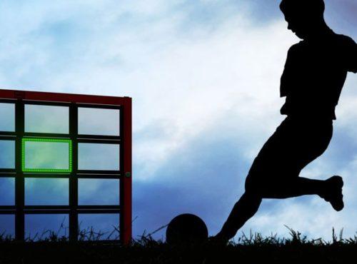 Sutu voetbalmuur interactief