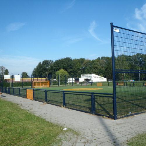 De speelplek ligt in de wijk Wielwijk in de gemeente Dordrecht
