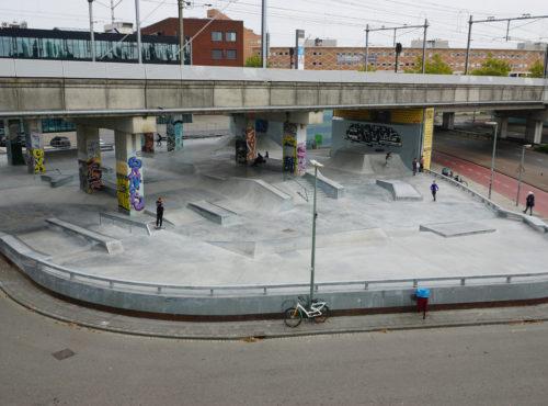 Skatepark Dordrecht Dokweg