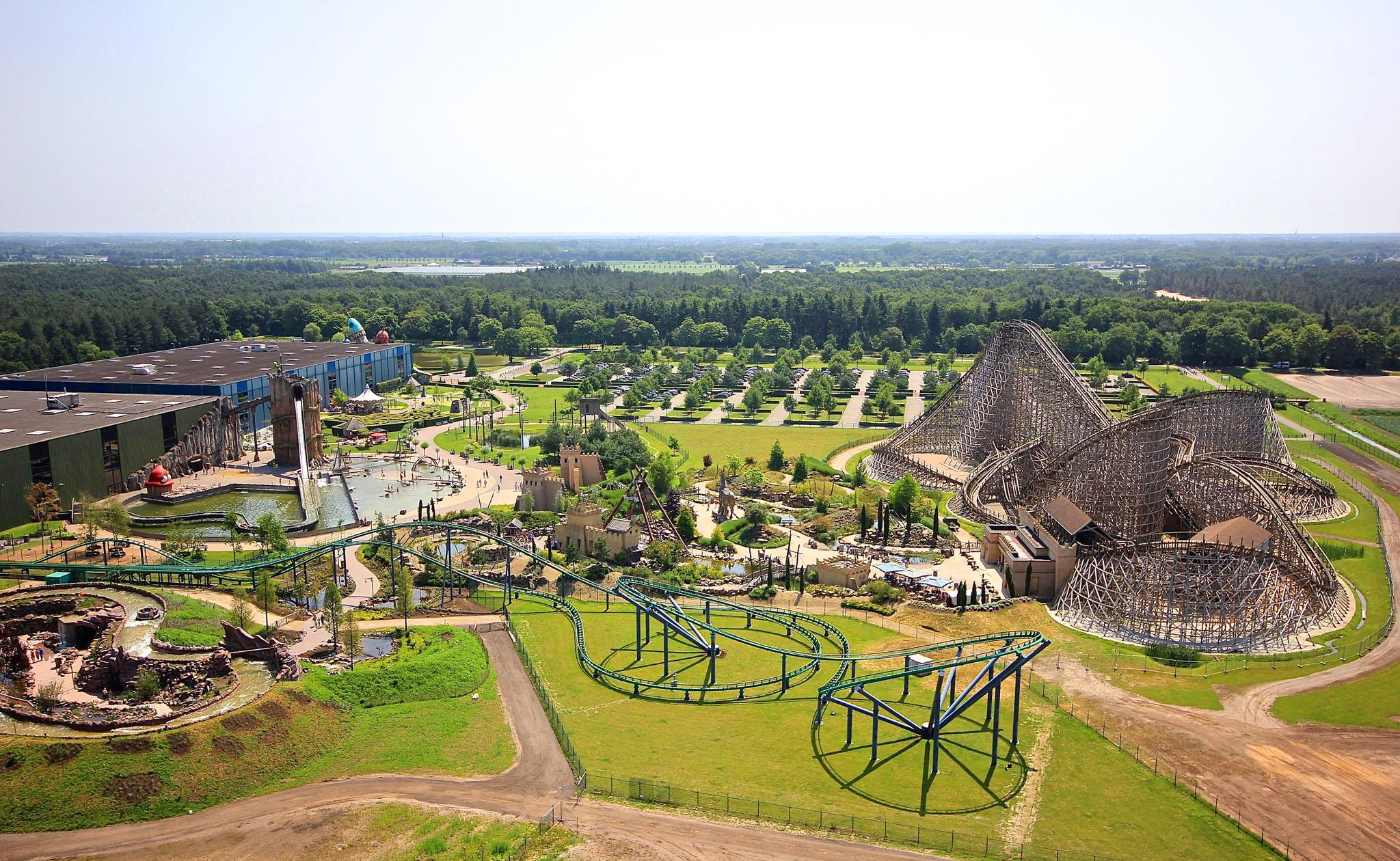 Attractiepark Toverland In Sevenum Limburg Familiepretpark