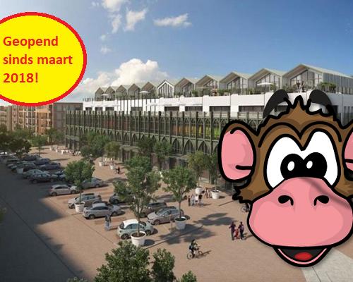 Binnenspeeltuin Monkey Town Haarlem open