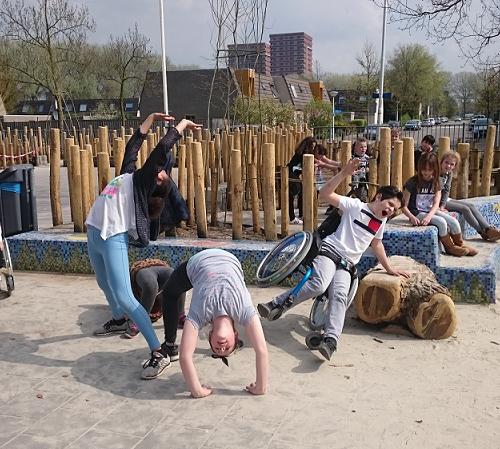 Speeltuin samenspeelplein van SPILcentrum de Keverberg Eindhoven