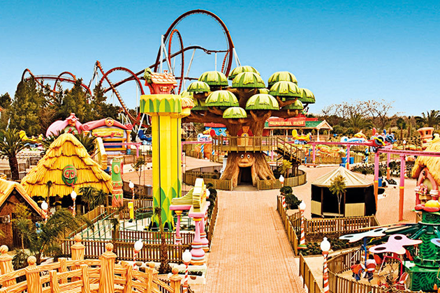 Attractiepark PortAventura Tarragona CostaDorada Spanje