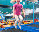 Bubbeljungle Speelstad trampoline