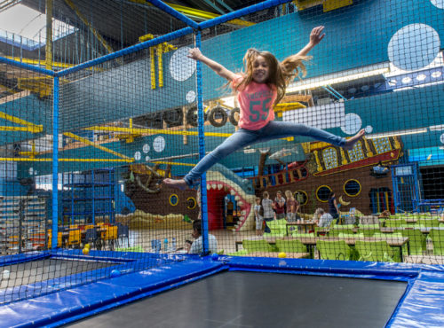 Bubbeljungle Speelstad trampoline 2