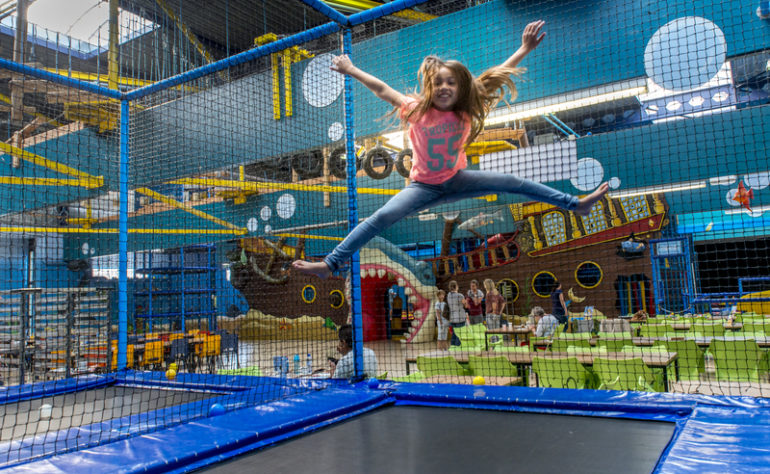 Bubbeljungle Speelstad, Golf en Klimpark